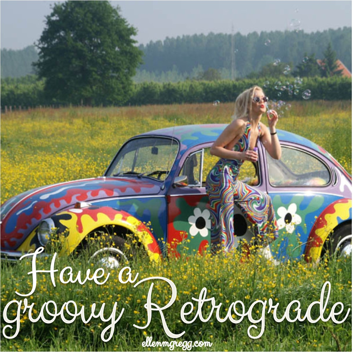 Have a Groovy Retrograde ~ The Productive (and Relaxed) Nature of Mercury Retrograde
