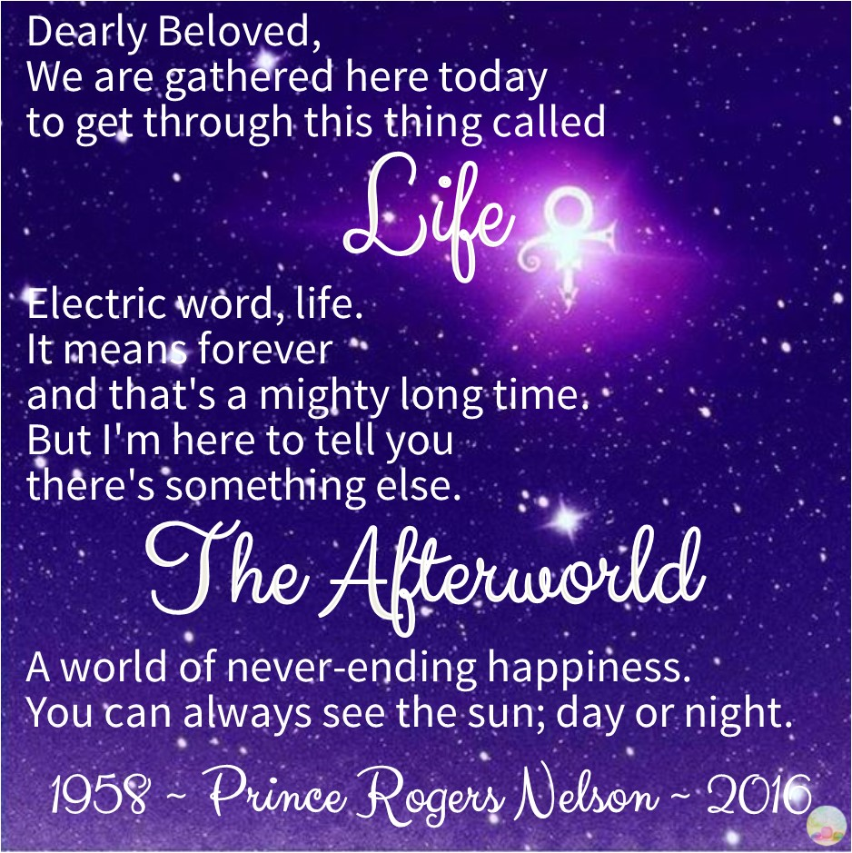 Prince: Life and the Afterworld. 1958 - 2016.