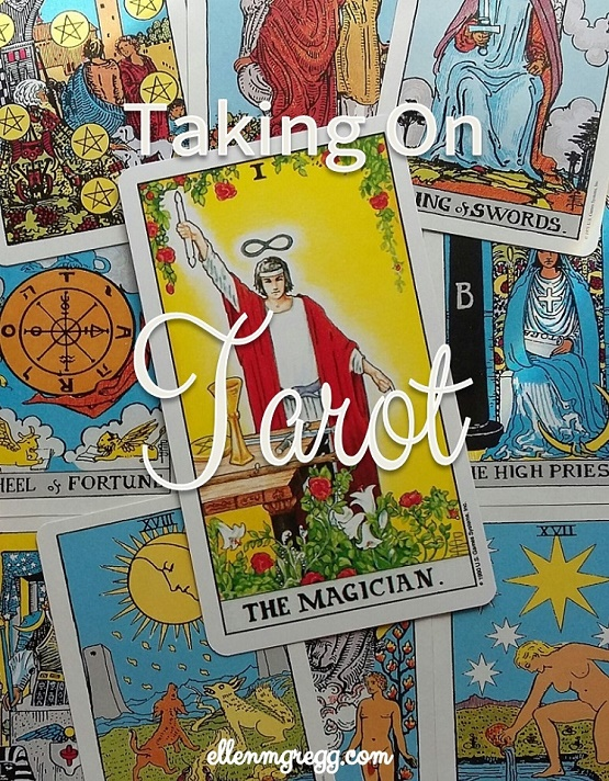Taking On Tarot: The Magician ~ A self-study journey through the Universal Waite Tarot deck.
