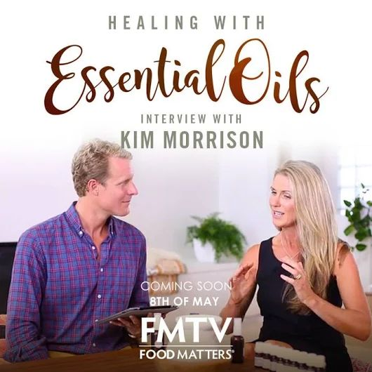 Healing With Essential Oils ~ A video available on FMTV (Food Matters TV)