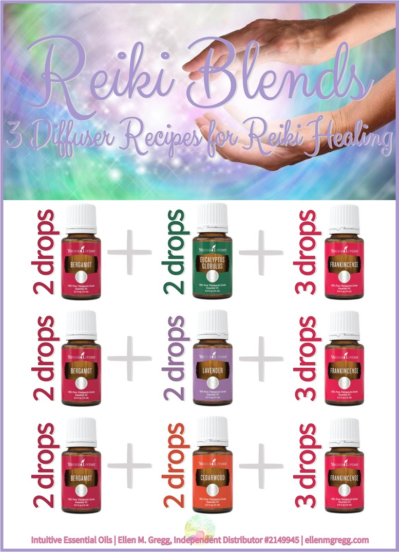 Reiki Blends: 3 Essential Oil Diffuser Recipes for Reiki Healing