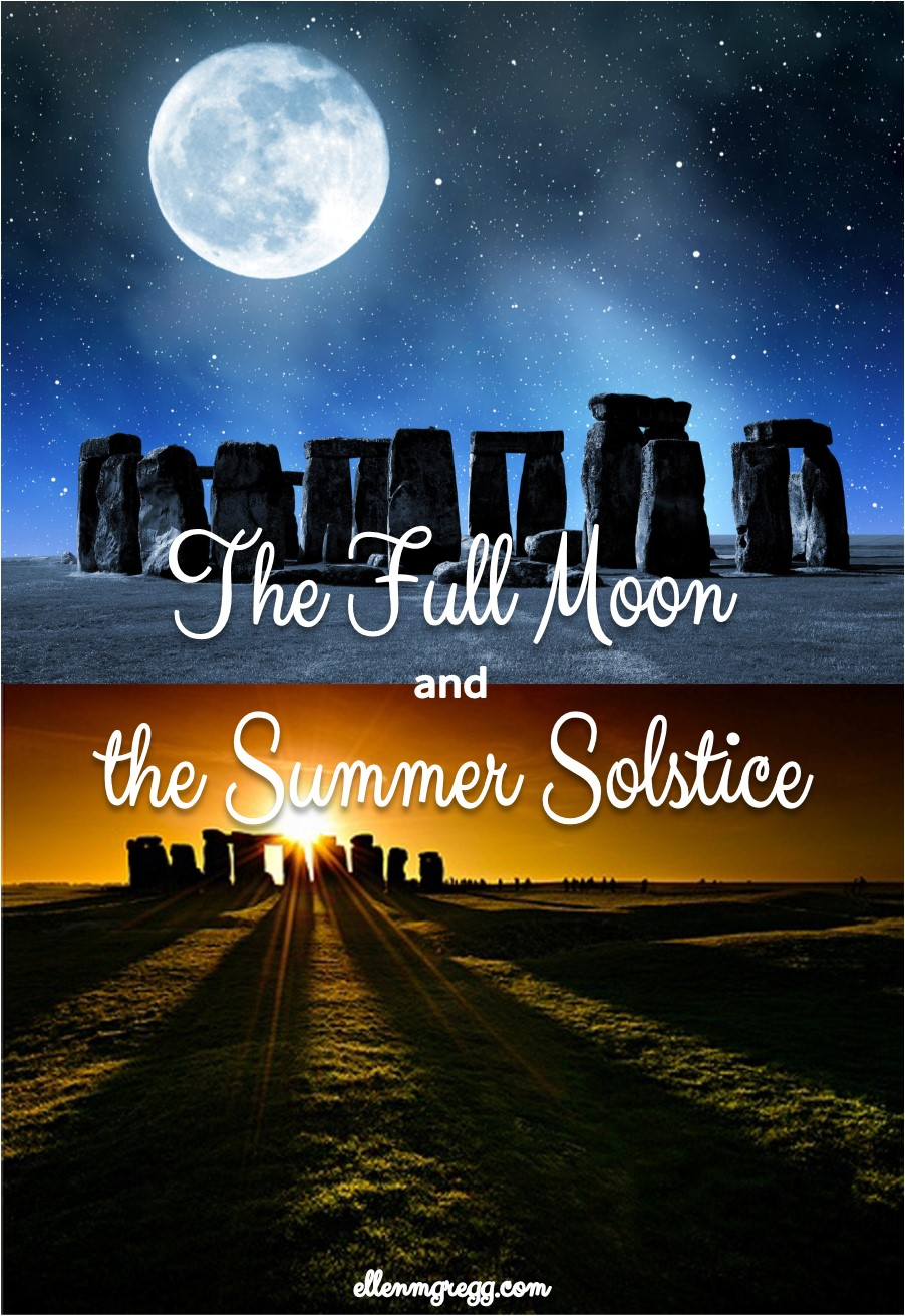 The Full Moon and the Summer Solstice