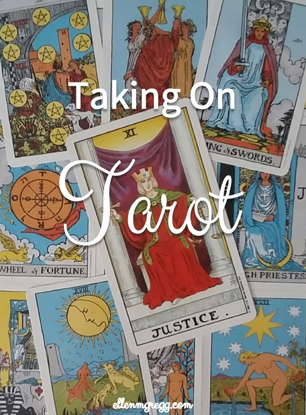 Taking On Tarot: Justice ~ A self-study of the Universal Waite Tarot Deck