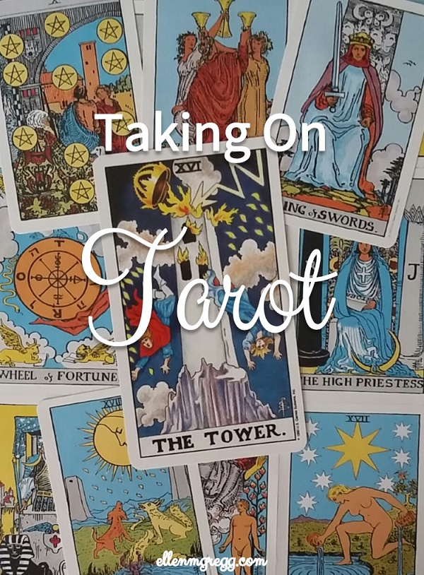 Taking On Tarot: The Tower ~ A self-study of the Universal Waite Tarot deck.