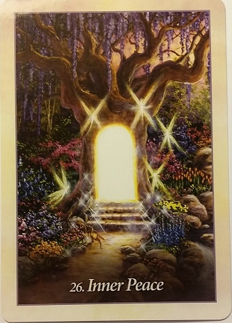 Inner Peace ~ Weekly Guidance: August 16, 2016 ~ Card from Mario Duguay's Oracle of the Angels deck.