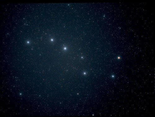 The Big Dipper, minus the lines my inner vision is showing me.