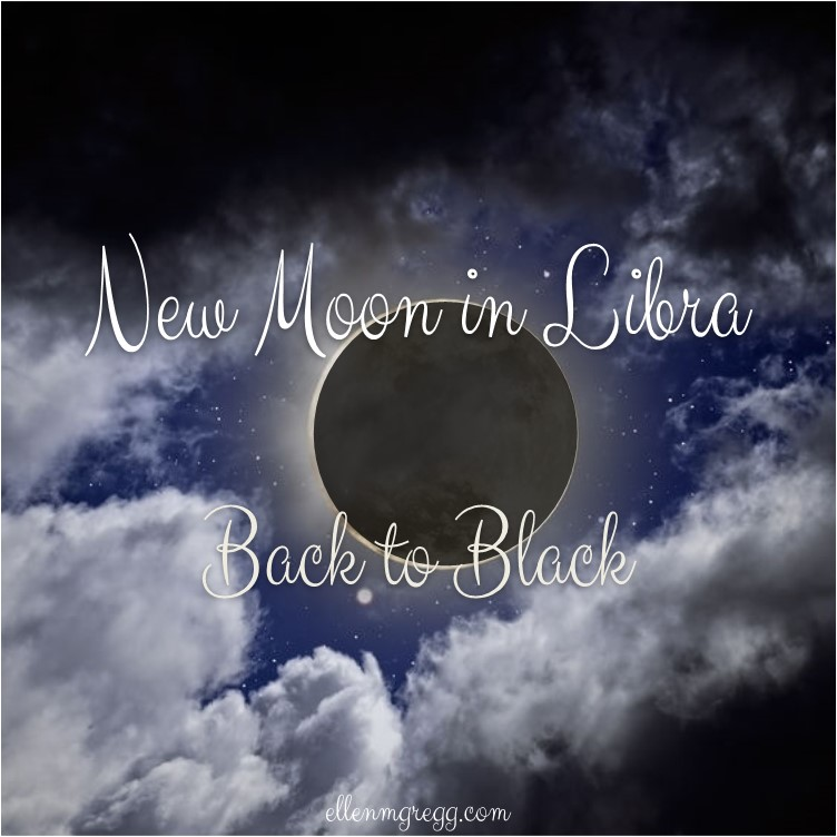 New Moon in Libra: Back to Black