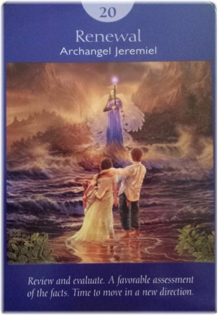 Renewal ~ Card from Doreen Virtue's Angel Tarot deck