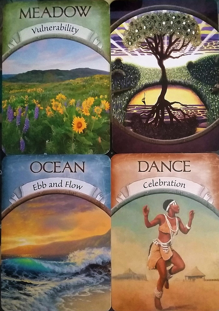 Guidance for the week of November 21 through November 26, 2016. ~ Cards are from Steven D. Farmer's Earth Magic oracle deck.