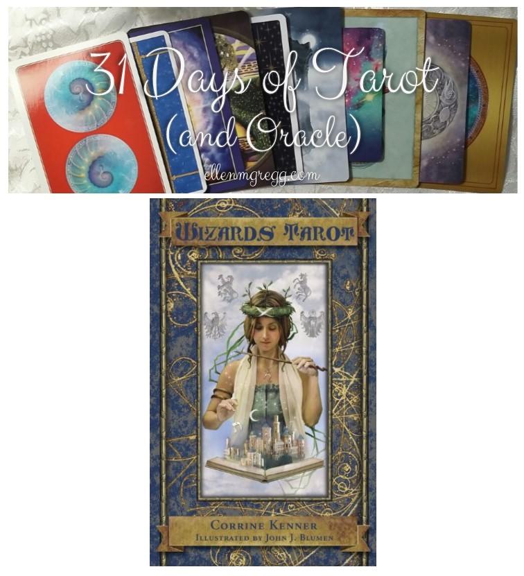 31 Days of Tarot, Day 6: Deck on my Wishlist from 2016 ~ Wizards Tarot by Corrine Kenner