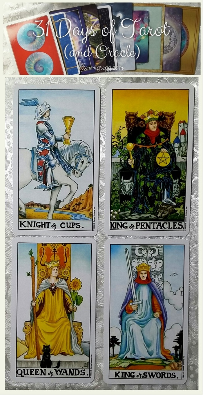 31 Days of Tarot, Day 14: The Tarot court cards I'd date, marry, be best friends with, and view as a mortal enemy