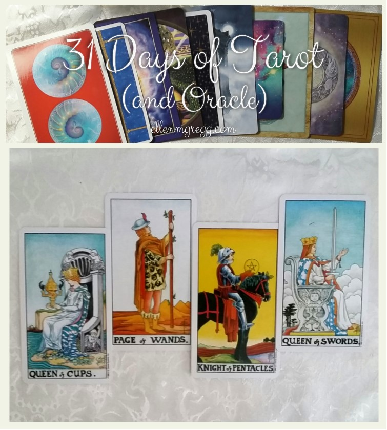 31 Days of Tarot, Day 15: My View on Tarot Court Cards