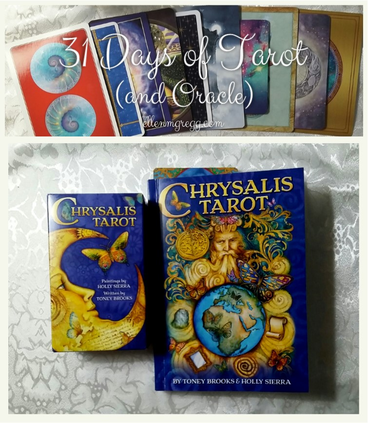 31 Days of Tarot, Day 22: The deck that's solely for my personal use is... Chrysalis Tarot