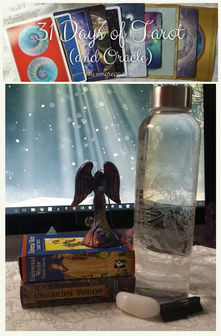 31 Days of Tarot, Day 28: My Favorite Tarot and Oracle Reading Accessories
