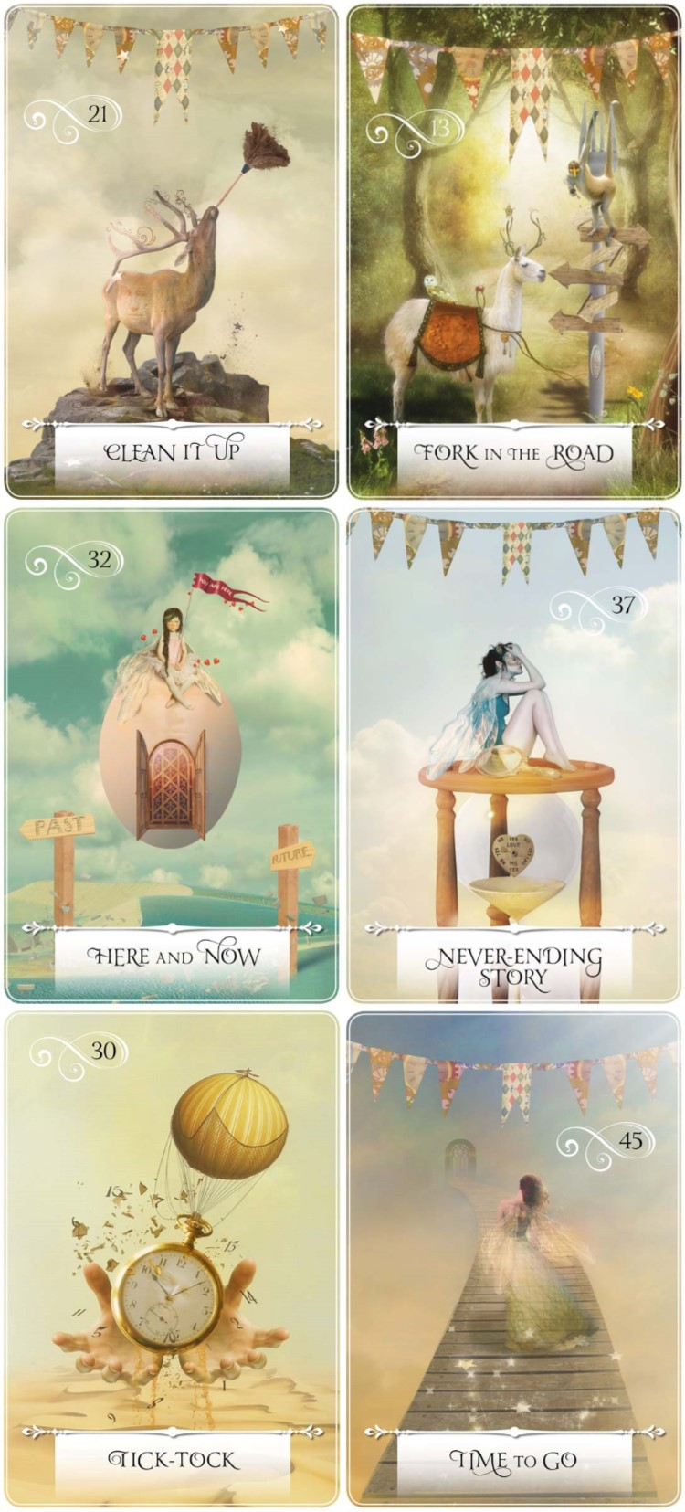 31 Days of Tarot, Day 8 Example Cards from Wisdom of the Oracle by Colette Baron-Reid