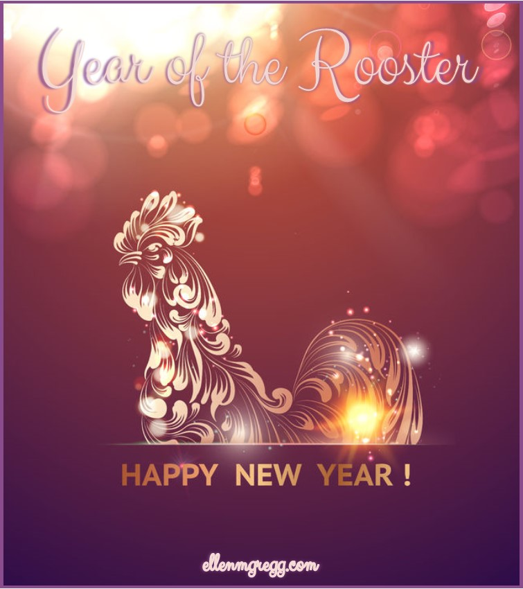 Happy New Year! It's Chinese New Year, the year of the rooster.