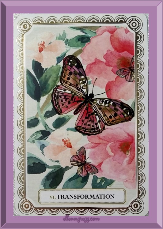 Daily Oracle ~ March 4, 2017 ~ Transformation from the Magic & Manifestation Affirmation Cards deck by Cristina Re