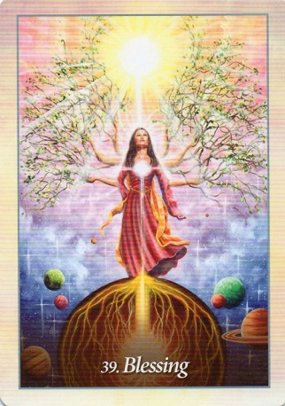 "Interviewing the Oracle of the Angels deck ~ What is your energy form? ""Blessing"""