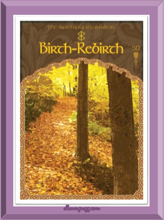 Daily Oracle: March 7, 2017 ~ Today's card is Birth-Rebirth from Colette Baron-Reid's Wisdom of Avalon oracle deck.