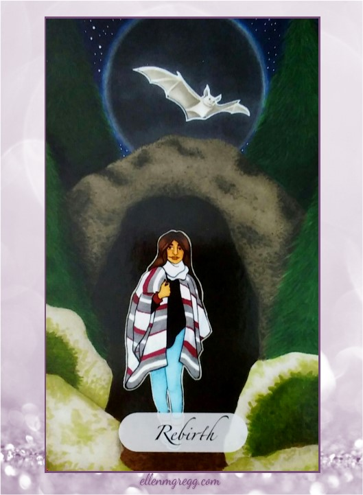 Daily Oracle: March 29, 2017 ~ Rebirth ~ Card from The Awakened Soul Oracle Deck by Ethony Dawn, published by Ethony Dawn.