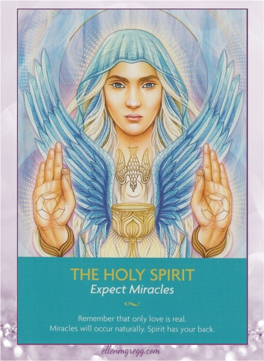Daily Oracle: 7 April, 2017 ~ The Holy Spirit from Kyle Gray's Keepers of the Light, published by Hay House.