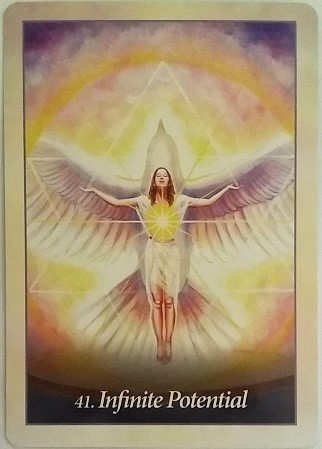 "Interviewing Oracle of the Angels deck ~ What is your ideal purpose? ""Infinite Potential"""