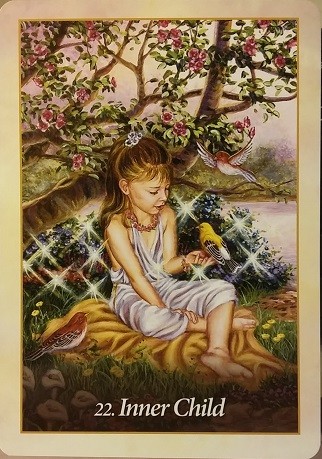 "Interviewing the Oracle of the Angels deck ~ Who will benefit from working with you? ""Inner Child"""