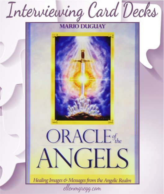 Interviewing Oracle of the Angels, created by Miguel Duguay and published by Blue Angels Publishing.