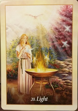 "Interviewing the Oracle of the Angels deck ~ Who is your ideal querent? ""Light"""