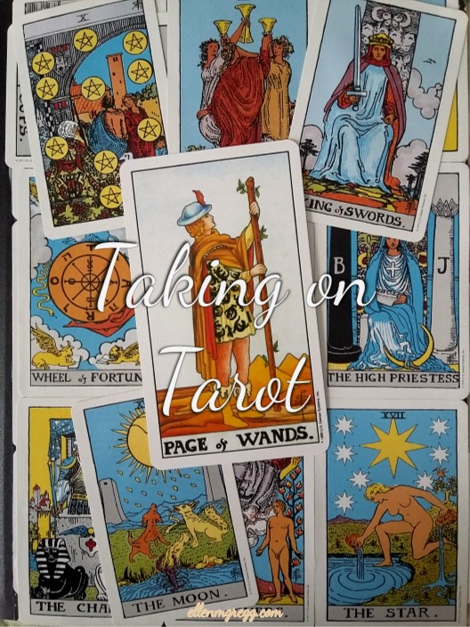 Taking On Tarot: Page of Wands ~ A self-study of the Tarot through the Universal Waite deck, published by U.S. Games Systems, Inc.