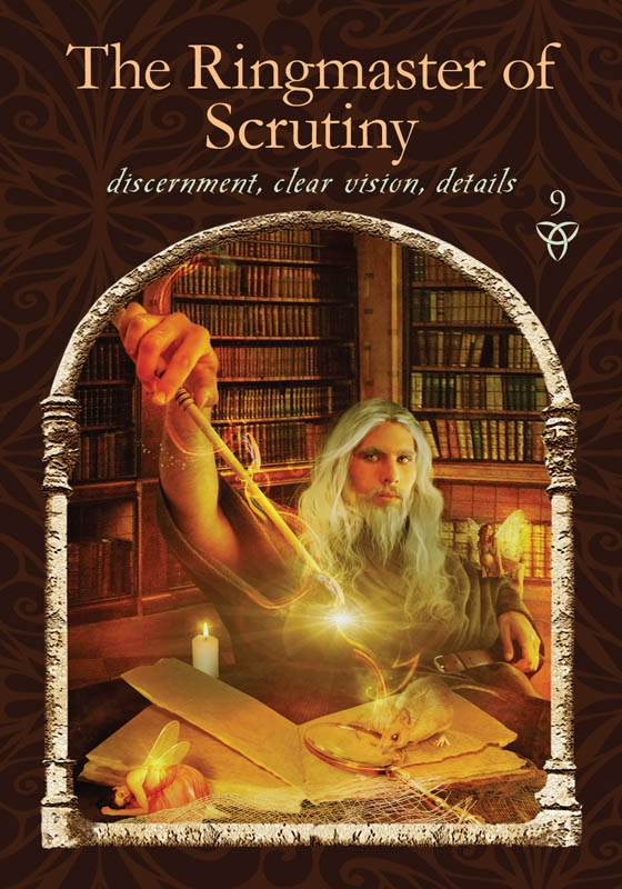 The Ringmaster of Scrutiny from Wisdom of the Hidden Realms by Colette Baron-Reid, published by Hay House.