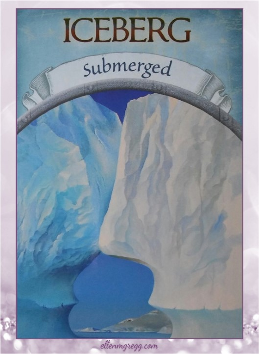 Daily Divination: 9 April, 2017 ~ Iceberg from Steven D. Farmer's Earth Magic oracle cards, published by Hay House Lifestyles.