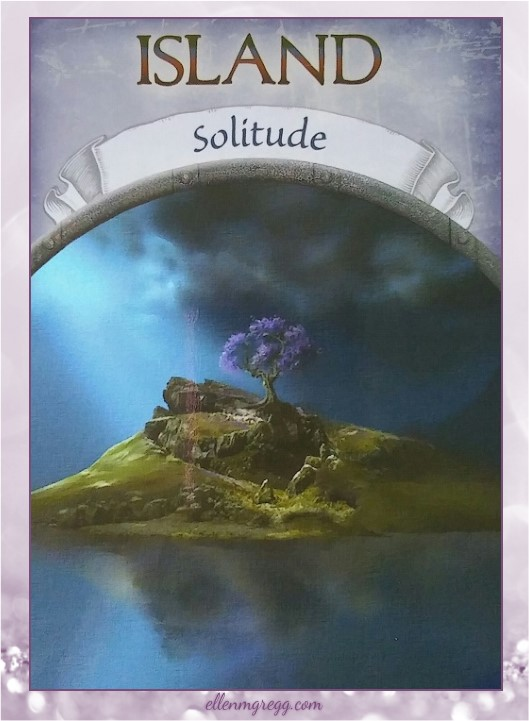 Daily Divination: 10 April, 2017 ~ Island from Steven D. Farmer's Earth Magic oracle cards, published by Hay House Lifestyles.