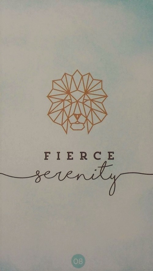Fierce Serenity ~ Sacred Creators Oracle created and published by Chris-Anne.