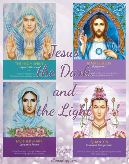 Jesus, the Dark, and the Light: A reflection on remembering why we're here by Intuitive Ellen