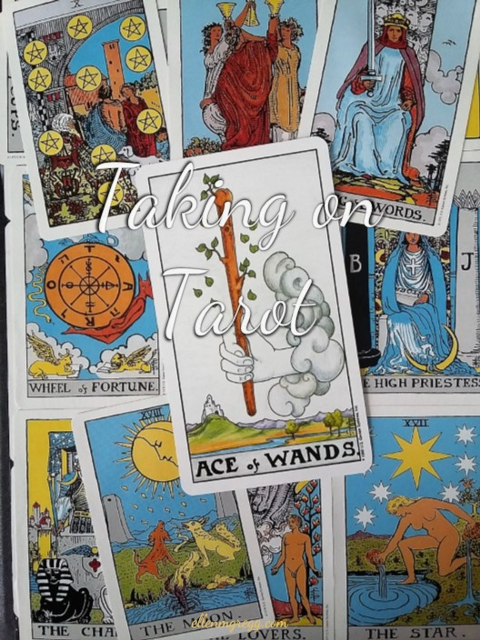 Taking on Tarot: Ace of Wands ~ A self-study of the Universal Waite Tarot deck, published by U.S. Games Systems, Inc.