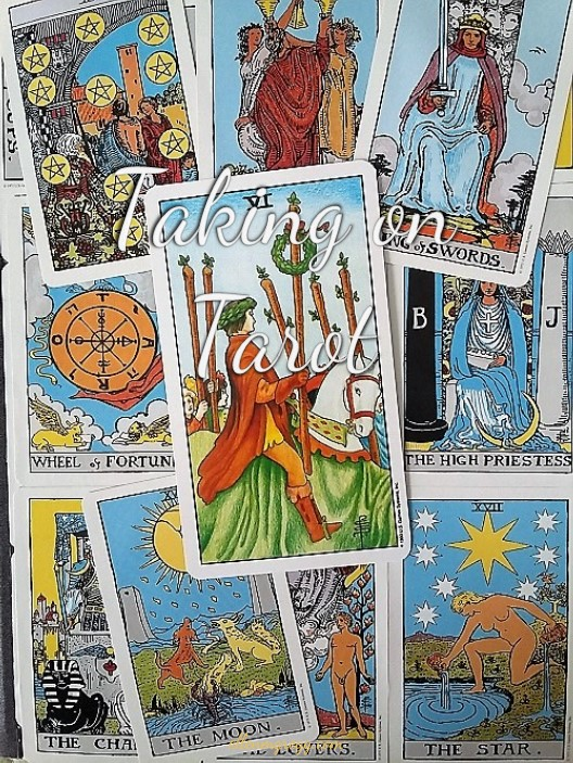 Taking On Tarot: Six of Wands ~ A self-study of the Universal Waite Tarot deck, published by U.S. Games Systems Inc.