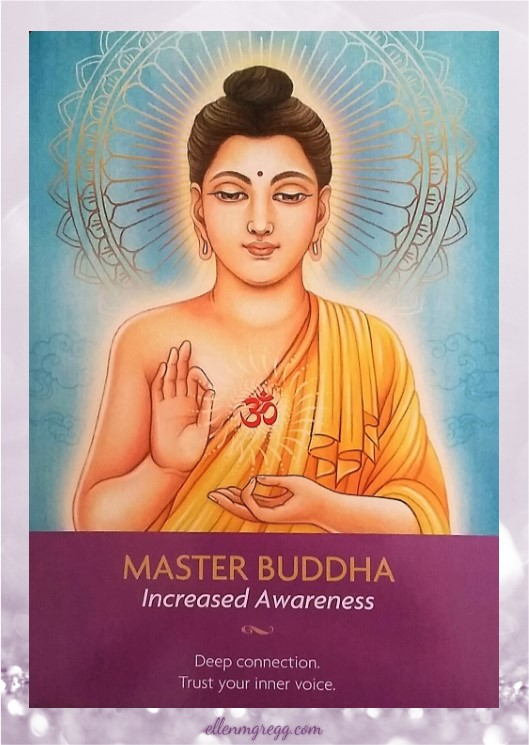 Daily Divination: 10 May, 2017 ~ Master Buddha from Keepers of the Light oracle cards, created by Kyle Gray, art by Lily Moses, published by Hay House Lifestyles.