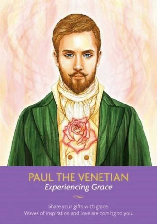 Paul the Venetian ~ Keepers of the Light, created by Kyle Gray, artwork by Lily Moses, published by Hay House LifeStyles.