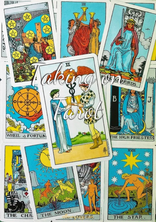 Two of Cups: Taking On Tarot Self-Study with the Universal Waite Tarot Deck published by U.S. Games Systems, Inc.