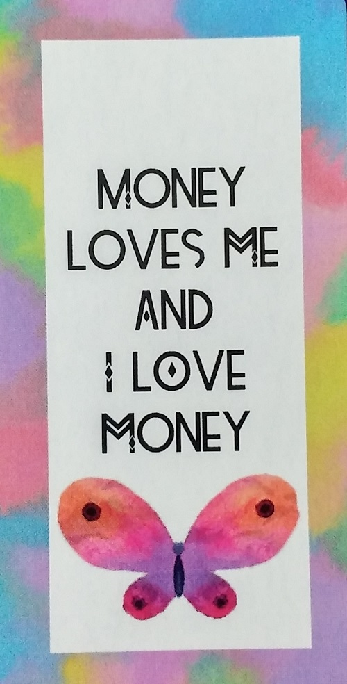 Money Loves Me and I Love Money ~ Money Magic Manifestation Cards created and published by Ethony Dawn