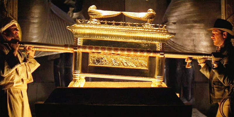 "Ark of the Covenant from ""Raiders of the Lost Ark"" ~ It reminds me of the chalice on the Universal Waite Tarot Queen of Cups. ~ Intuitive Ellen"