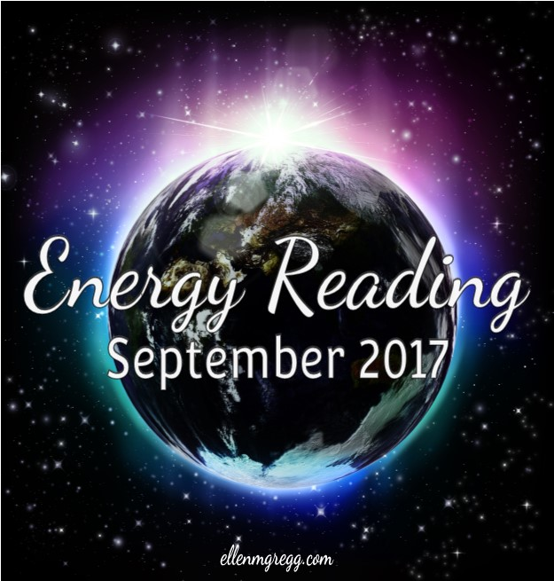 Energy Reading for September 2017 ~ You'll find a video reading, plus up-close pictures of the cards drawn to exercise your own intuitive muscles. ~ Intuitive Ellen