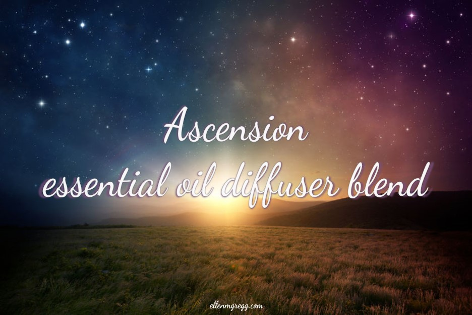 Ascension essential oil diffuser blend lead-in image.