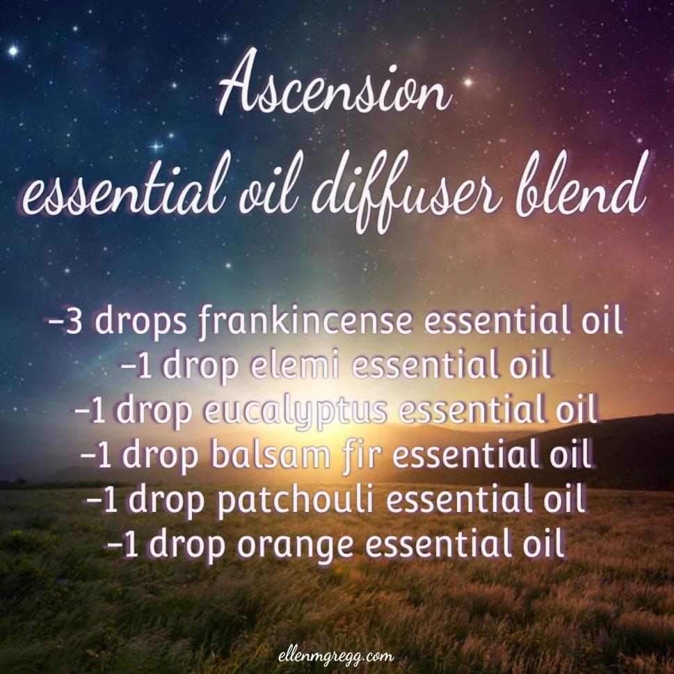 Ascension Essential Oil Diffuser Blend ~ Intuitive Ellen ~ #essentialoils #diffuserrecipe