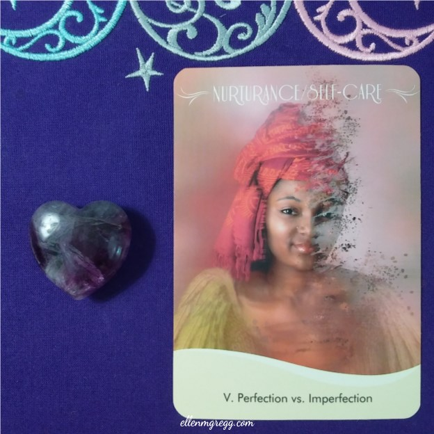 Intuitive Foundation-Laying: Sleep inquiry response card from Women's Bodies, Women's Wisdom oracle cards ~ Intuitive Ellen