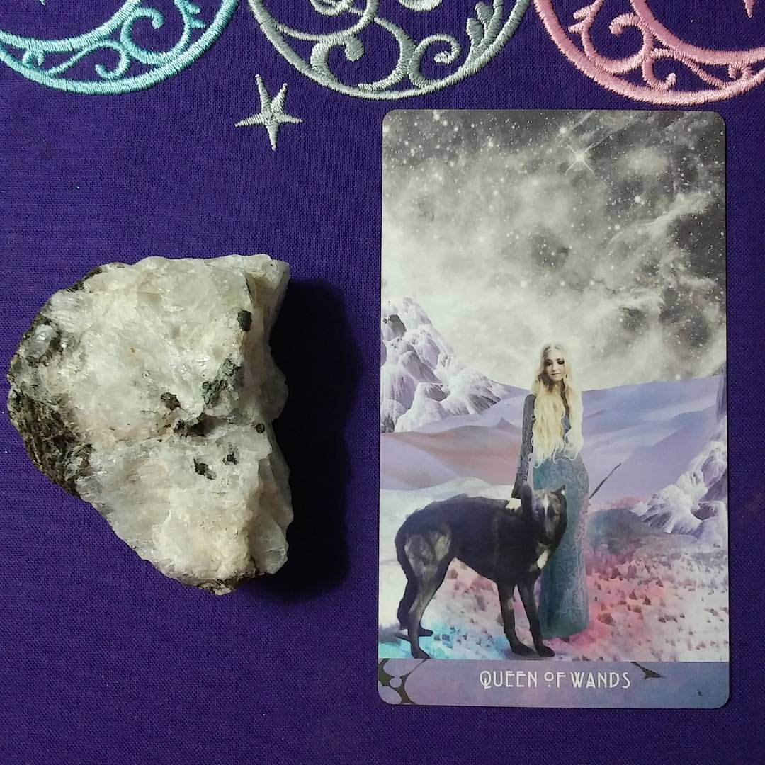 The Purpose of Your Existence ~ A post by Ellen M. Gregg :: Intuitive ~ Queen of Wands from The Starchild Tarot Akashic