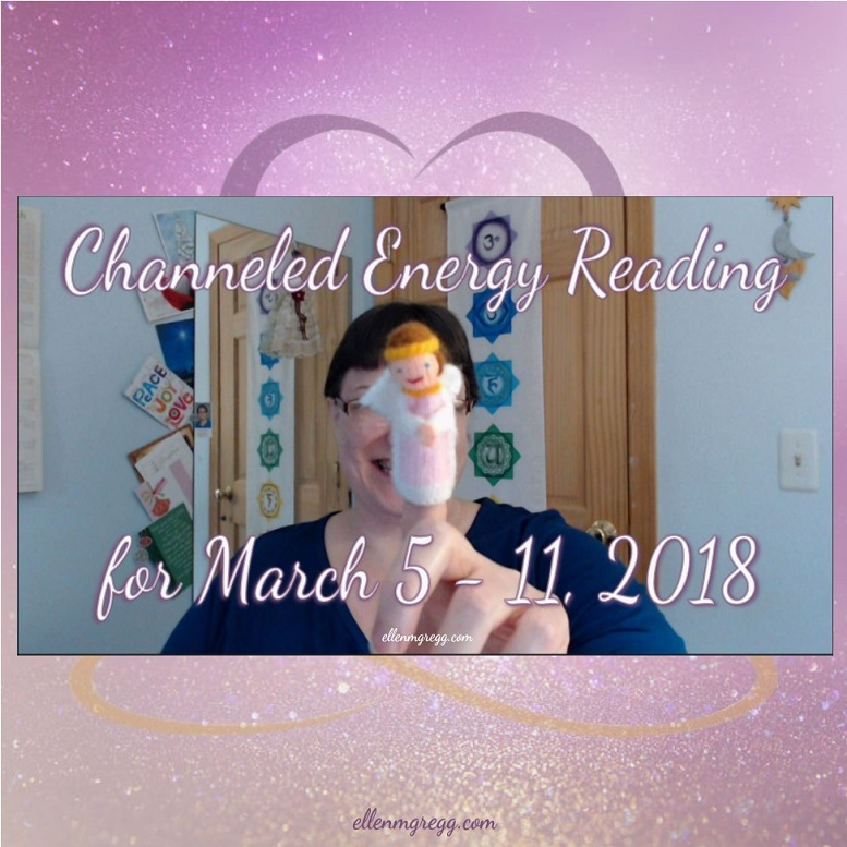 Channeled Energy Reading for March 5 - 11, 2018 ~ Intuitive Ellen ~ Featuring cards from The Housewives Tarot: The Magician and Four of Pentacles.