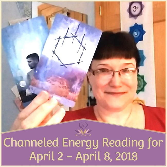 Channeled Energy Reading for April 2 - April 8, 2081 ~ Intuitive Ellen ~ Featuring The Starchild Tarot * Akashic deck by Danielle Noel.