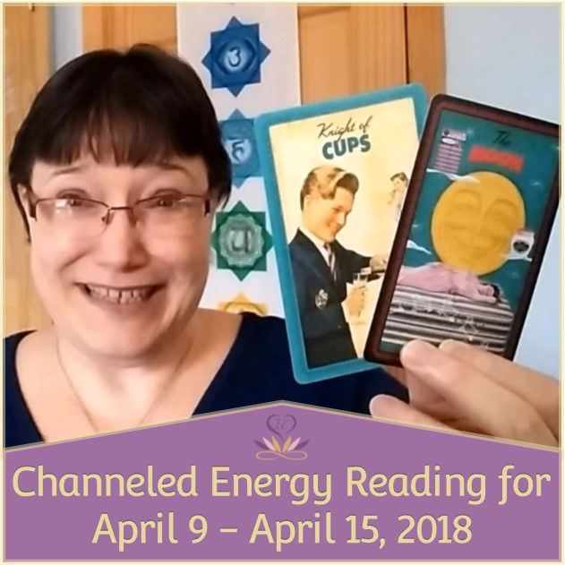 Channeled Energy Reading for April 9 - April 15, 2018 ~ Intuitive Ellen, featuring The Housewives Tarot deck